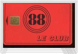 DX086 CLUB 88  ROUGE - Non Classés