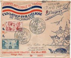 Journée Nationale Du Timbre  - Exposition Philatélique De Propagande - CHATILLON SUR SEINE (21) (90308) - Algeria (1962-...)