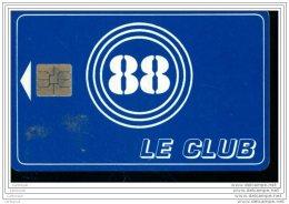DX2038   CARTE A PUCE   88 - Francia