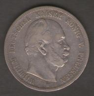 GERMANIA 5 MARK 1875 AG SILVER - [ 2] 1871-1918 : Empire Allemand