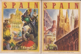 16 / 9 / 69     -dépliant  Touristique  D ' ESPAGNE  (  EN  ANGLAIS ) - Dépliants Touristiques