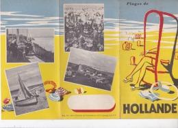 16 / 9 / 68  -   DÉPLIANT  TOURISTIQUE   DE  HOLLANDE   ( EN  FRANÇAIS ) - Tourism Brochures