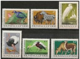URSS/Russia/Russie: Animali Diversi, Different Animals, Différents Animaux - Postzegels