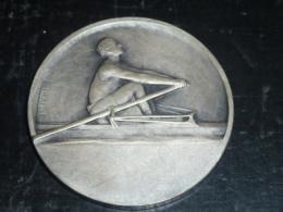 MEDAILLE EN BRONZE NEUVE SUR L'AVIRON DANS SON ECRIN  - AVIRON SPORT - Rowing