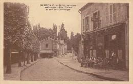 CARTE POSTALE    BRUNOY 91    Rue Talma Et Rue Des Carrouges - Brunoy