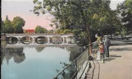 ROMORANTIN (L.-et-Ch.) - Le Square Et Le Pont Sur La Sauldre (935) - Romorantin