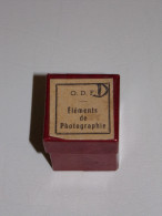 Film Fixe Pédagogique En Bobine - Histoire De L'éducation - Eléments De Photographie - Pellicole Cinematografiche: 35mm-16mm-9,5+8+S8mm