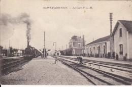 CARTE POSTALE    SAINT FLORENTIN 91   La Gare - Saint Florentin