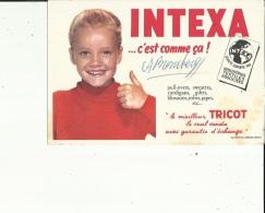 Buvard G F_21x15 - De ( INTEXA Le Meilleur TRICOT_PULL-OVERS- Gilets........Voir San - Blotters