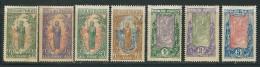 CONGO N° 58 à 64 * - Unused Stamps