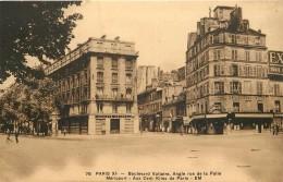 PARIS - Boulevard Voltaire,angle Rue De La Folie Méricourt (banque Société Générale). - Arrondissement: 11