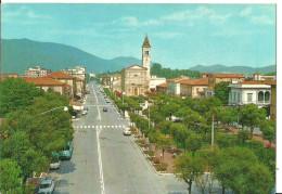 Marina Di Carrara (Massa Carrara) Piazza G. Menconi E Chiesa, Place Menconi Et Eglise, Menconi Square And Church - Carrara