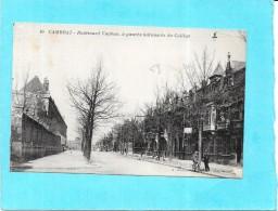 CAMBRAI - 59 - Boulevard Vauban, à Gauche Batiments Du Collège - RARE - VAN - - Cambrai