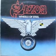 LP - SAXON - WHEELS OF STEEL - 1980 - Hard Rock & Metal