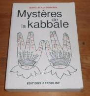 Mystères De La Kabbale. Marc Alain Ouaknin. 2001. - Esotérisme