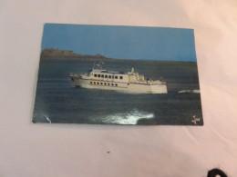 """C P S M Bateau """" Jaguar """" Vedettes Armoricaines Passagers - Dampfer"""