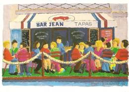 BIARRITZ - BAR JEAN Par Piaf - Lavielle 883 - Non Circulée - Tbe - Biarritz