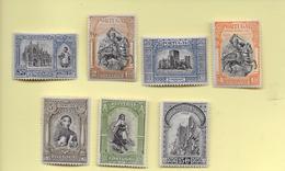 2 SCANS -TIMBRES - STAMPS - PORTUGAL - 1927 - INDÉPENDANCE DE PORTUGAL - BON LOT DE TIMBRES - Unused Stamps