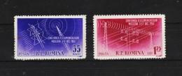 1958 -   Conference Des Telecommunation Mi No 1699/1700 Et Yv 1563/1564 MNH - 1948-.... Republiken