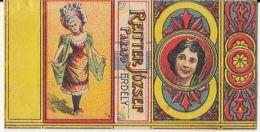 REITTER JOZSEF-PRAID MATCHES FACTORY, MATCHBOX LABEL, WOMAN, BEFORE 1899, ROMANIA - Publicités