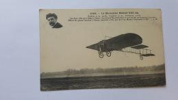AVIATION MONOPLAN BLERIOT VIII BIS CPA Animee Postcard - Aviation
