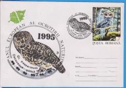 OWL OWLS BIRD BIRDS  ROMANIA COVER - Eulenvögel