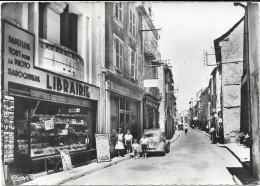 St Chely D'apcher Quartier Central Rue Roussel Librairie - Saint Chely D'Apcher