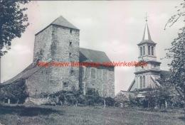 1968 Ancienne Tour De Justice Et L'Eglise - Ouffet - Ouffet