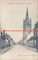 Eglise Notre-Dame Et Rue Cassel Poperinge - Poperinge