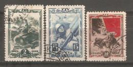 Sellos  Nº 919/23  Incompleta   Rusia - 1923-1991 URSS