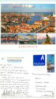 Copenhagen, Denmark Postcard Posted 2013 Stamp - Danemark