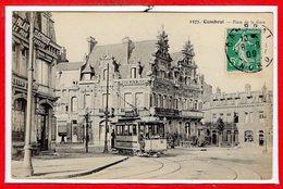 59 - CAMBRAI --  Place De La Gare - Cambrai