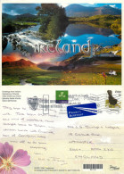 Montage, Ireland Postcard Posted 2000 Stamp - Irlande