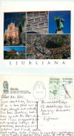 Ljubljana, Slovenia Postcard Posted 2004 Stamp - Slovenië