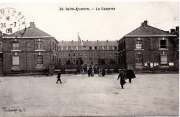 7188. CPA 02 SAINT QUENTIN. LA CASERNE. - Saint Quentin
