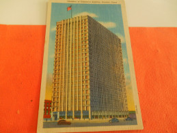 B659  Houston Chamber Of Commerce Building Cm13,5x9 No Viaggiata - Cartoline