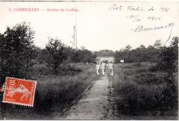 7197. CPA 95 CORMEILLES EN PARISIS. BASTION DU COTILLON. ECRITE PAR UN RADIOTELEGRAPHISTE 1910 - Cormeilles En Parisis