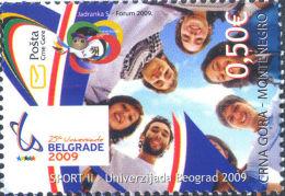 Montenegro 2009 Mih. 215 Sport Universiade In Belgrad MNH ** - Montenegro