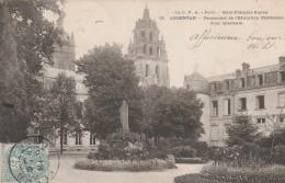Argentan - Pensionnat De L'éducation Chretienne - Cour Intérieure -  - Scan Recto-verso - Argentan