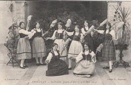 Argentan -   Institution Jeanne D'Arc  ( Fête  7 Et 8 Mai 1914 )- - Scan Recto-verso - Argentan