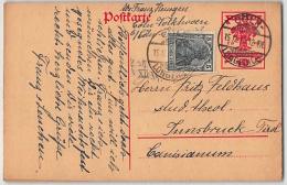 DR, P 115 ZuF, GANZSACHE, Auslandskarte Nach Österreich (unzulässig) - Ohne Nachporto - Allemagne