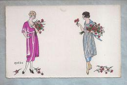 CPA - Fantaisie (Femmes) - 02. Illustration Marzo - Petites Femmes - Mode - Illustrators & Photographers
