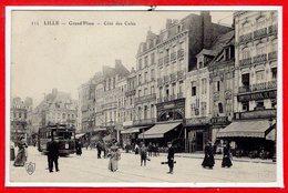 59 - LILLE --  Grand'Place - Côté Des Cafés - Lille