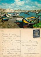 Marsaxlokk, Malta Postcard Posted 1967 Stamp - Malta