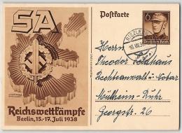 DR, BILDPOSTKARTE, P 271, TAGESSTEMPEL, GANZSACHE - Allemagne