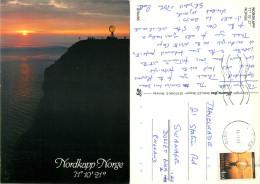 Nordkapp, Norway Postcard Posted 1991 Stamp - Norvegia