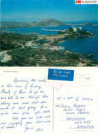 Kusadasi, Turkey Postcard Posted 1990 Stamp - Turquie