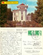 Ataturk Kiosk, Trabzon, Turkey Postcard Posted 1988 Stamp - Turquie