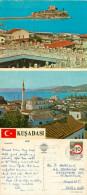 Mosque, Kusadasi, Turkey Postcard Posted 1988 Stamp - Turquie