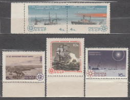 Russia USSR 1965 Mi# 3125-3129 Antarctic & Arctic Research MNH * * - 1923-1991 USSR